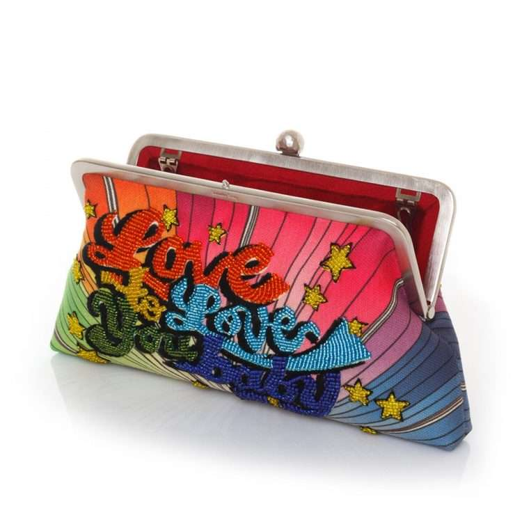 love to love classic bags multicolor classic day handwork discotheque open