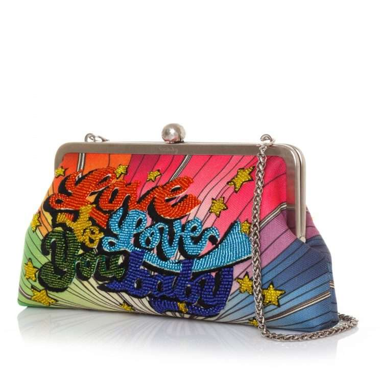 love to love classic bags multicolor classic day handwork discotheque side