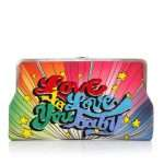 love to love clutch me bags multicolor clutch me day handwork discotheque front