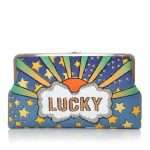 lucky clutch me bags multicolor pastels clutch me day handwork discotheque front