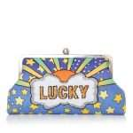 lucky classic bags blue pastels classic day handwork discotheque front
