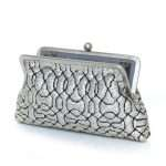 ottoman silver classic bags metallic silver classic evening handwork oriental open