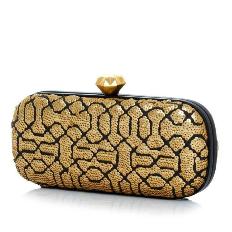 ottoman gold big box bags gold metallic big box evening handwork oriental side