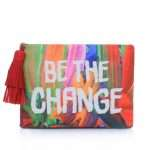 BE THE CHANGE POUCH FRONT