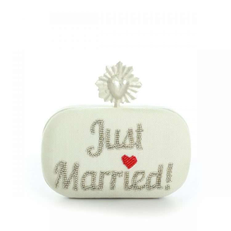 CELESTE JUST MARRIED IVORY BOX FRONT