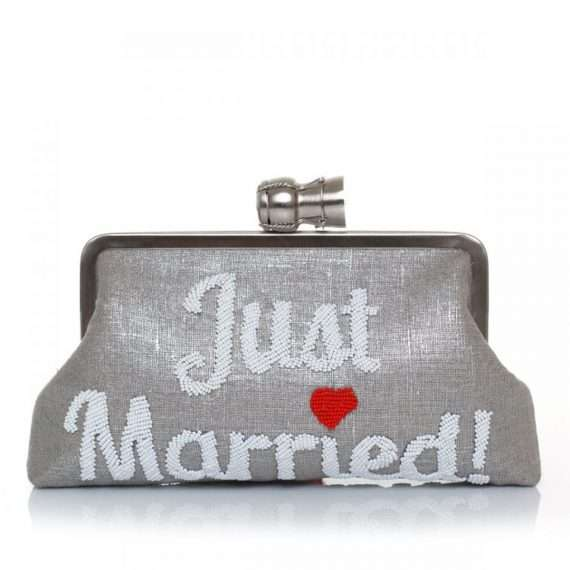CHAMPAGNE-JUST-MARRIED-SILVER-CLASSIC-FRONT