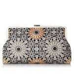MOROOCAN GOLD CLUTCH ME FRONT
