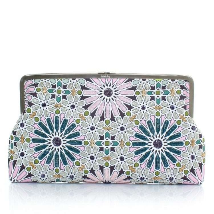 MOROOCAN PASTEL CLUTCH ME FRONT