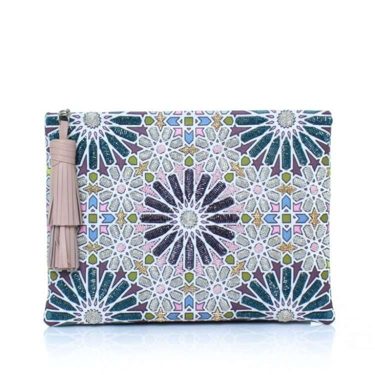 MOROOCAN PASTEL POUCH FRONT