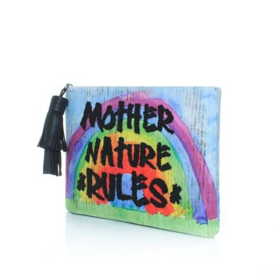 MOTHER NATURE RULES POUCH SIDE