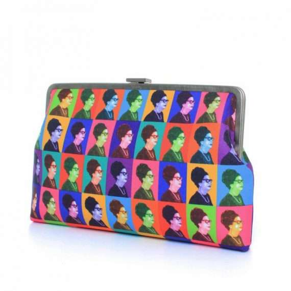 OUM KALTHOUM WARHOL CLUTCH ME SIDE