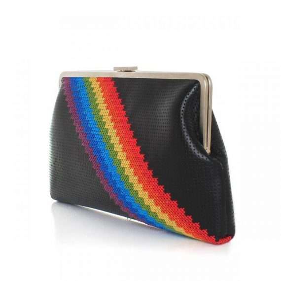 PIXEL RAINBOW CLUTCH ME SIDE