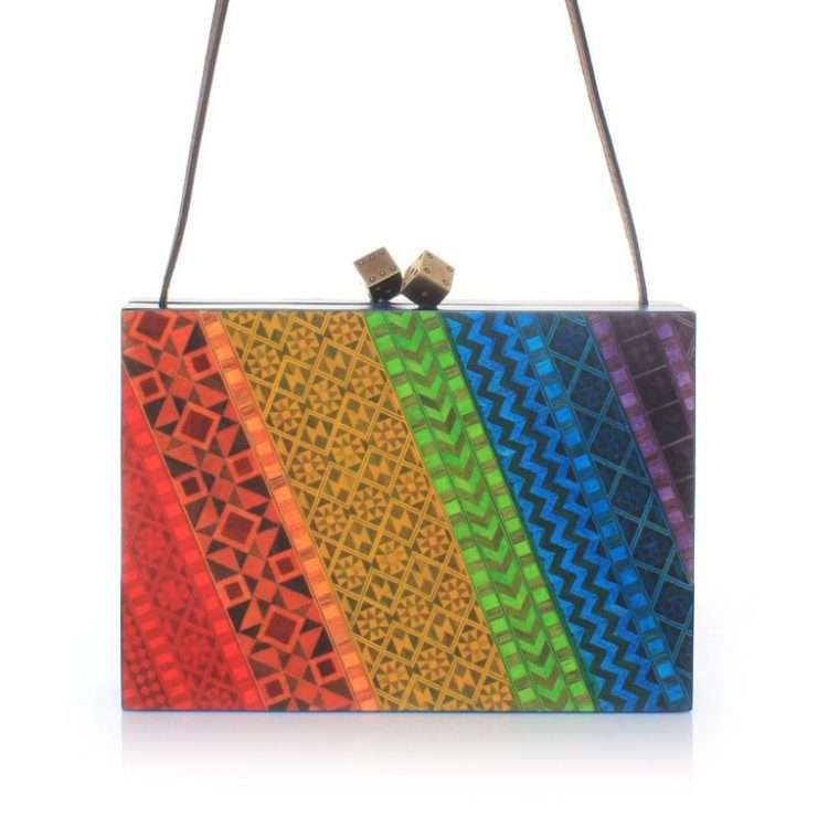RAINBOW MARQUETRY FRONT