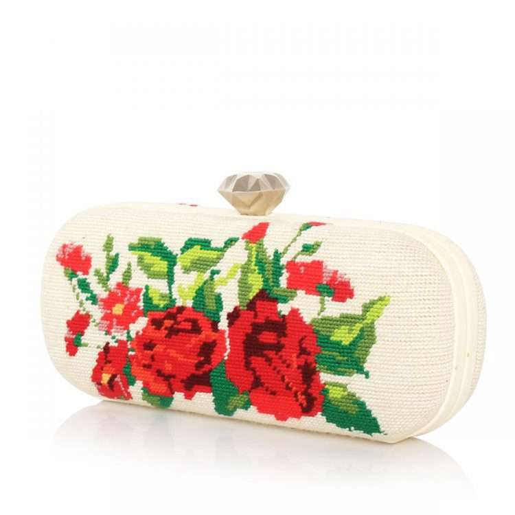 RED ROSES CANVAS BIG BOX SIDE