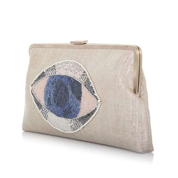 eye on you clutch me bags silver clutch me day handwork essentials side