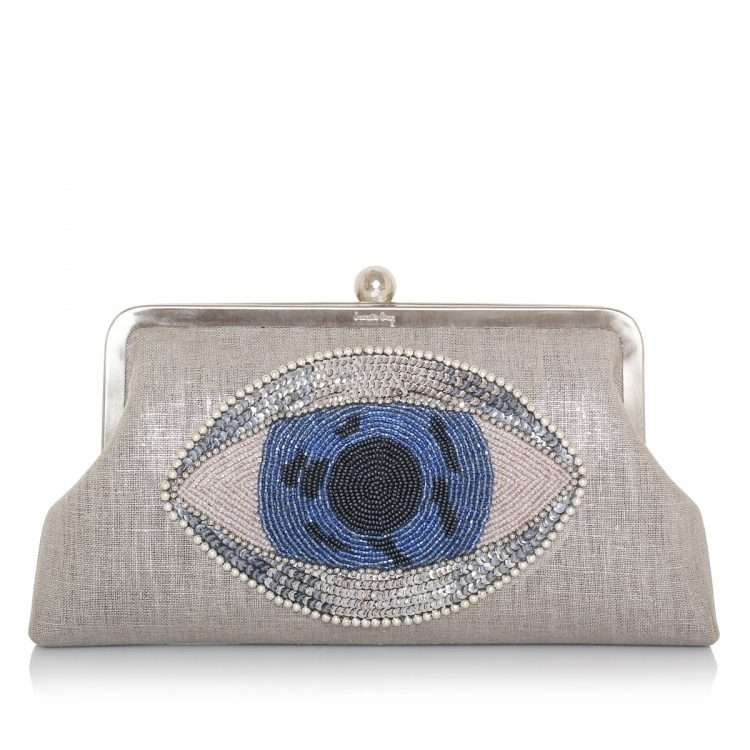 eye on you classic bags silver classic day handwork essentials front