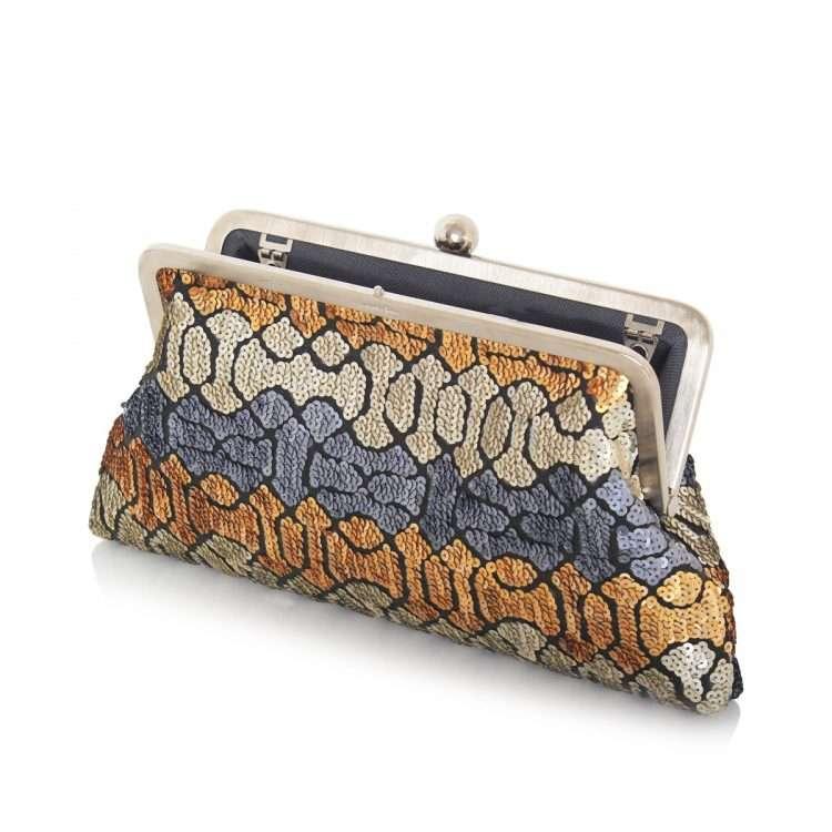 ottoman colors classic bags metallic classic evening handwork essentials open