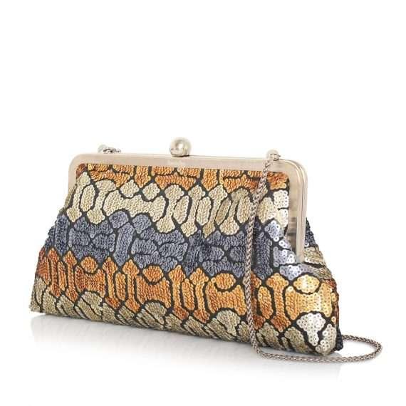 ottoman colors classic bags metallic classic evening handwork essentials side