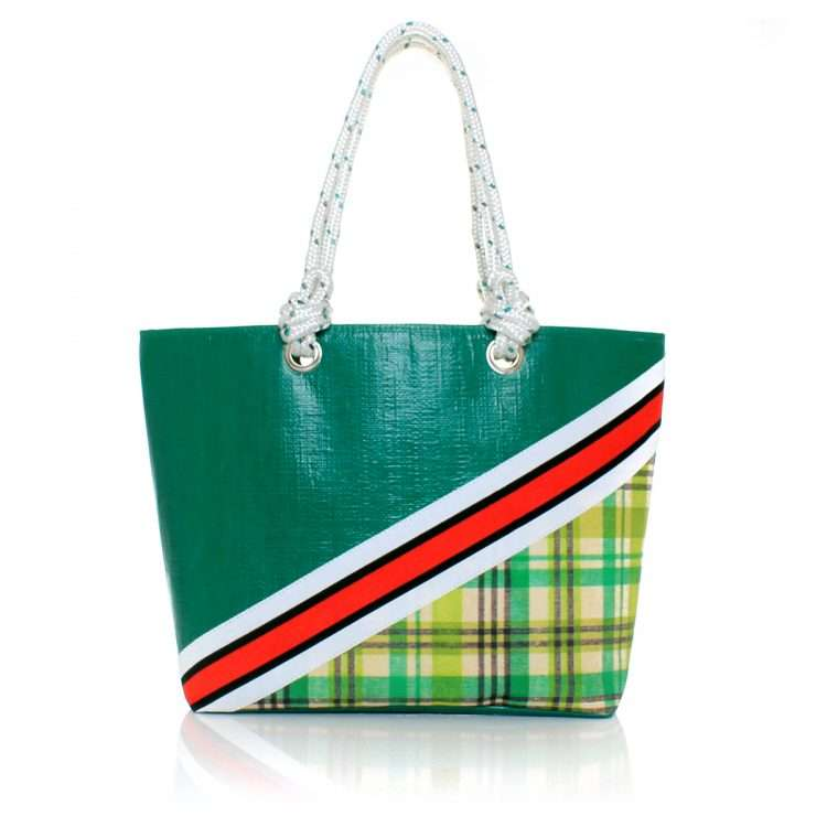 checks caba bags green caba day impressions afrodisiac front