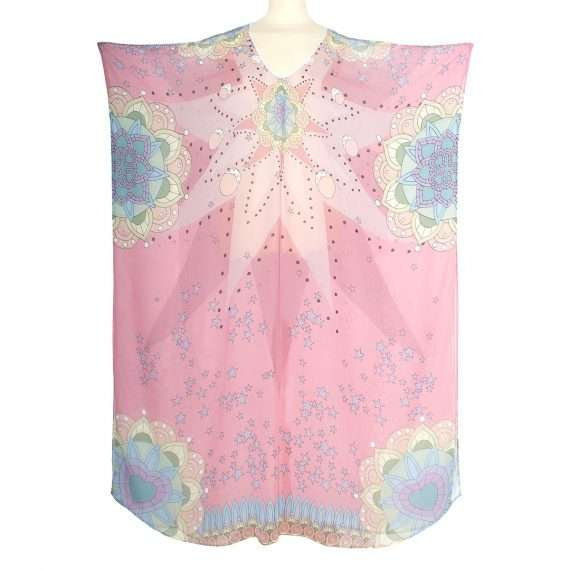 love dealer pastel kaftan front