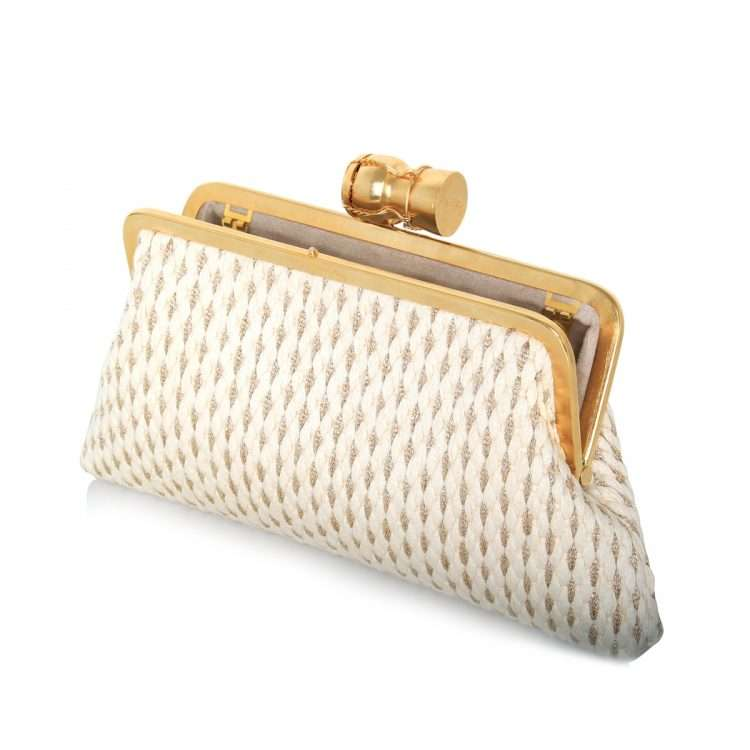 champagne gold white classic bags gold white classic evening impressions bridal open
