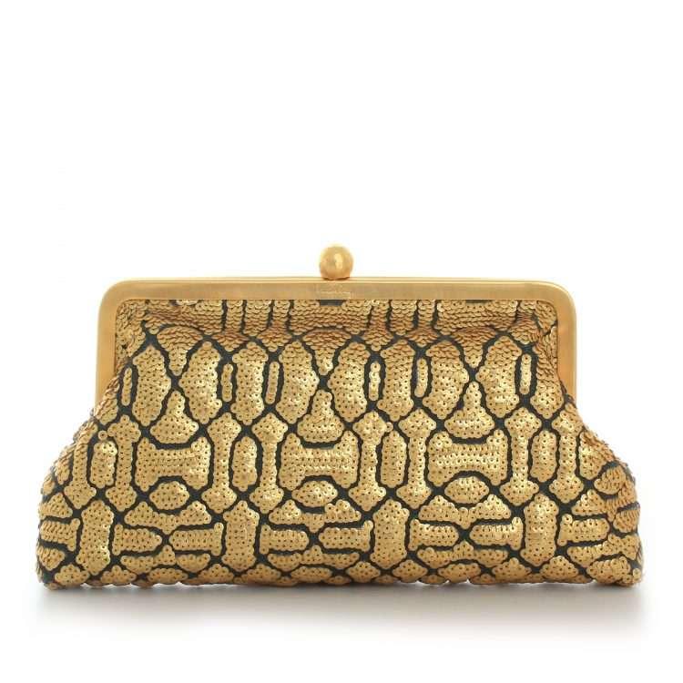 ottoman gold classic bags gold metallic classic evening handwork oriental front