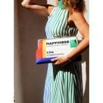 happiness clutch me bags multicolor clutch me day handwork retail therapy