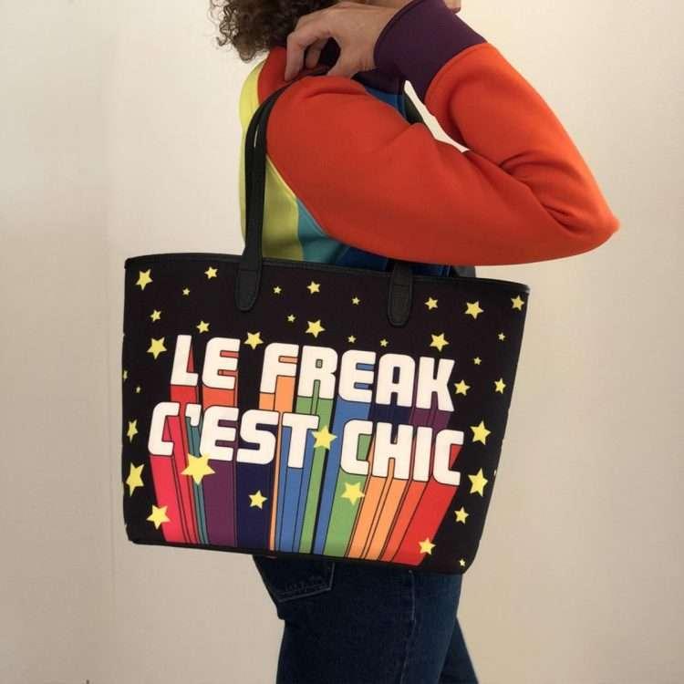 le freak caba bags black multicolor caba day impressions discotheque