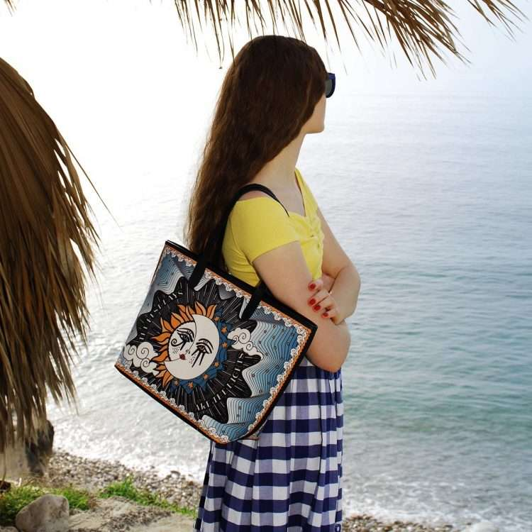 sun to moon caba bags blue multicolor caba day impressions love inked