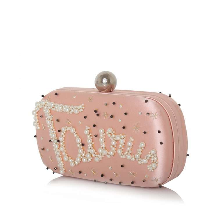 pink box bags black blue pink red night evening handwork astrolove side