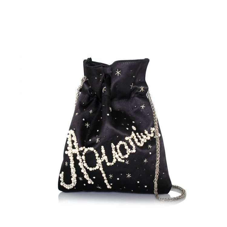black night bags black blue pink red night evening handwork astrolove front