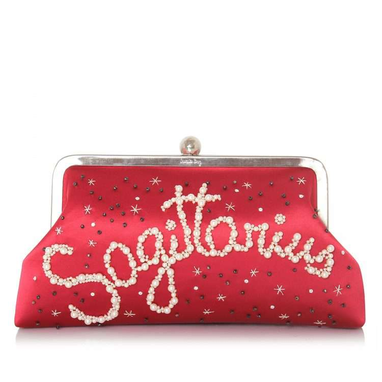 strawberry classic bags black blue pink red night evening handwork astrolove front