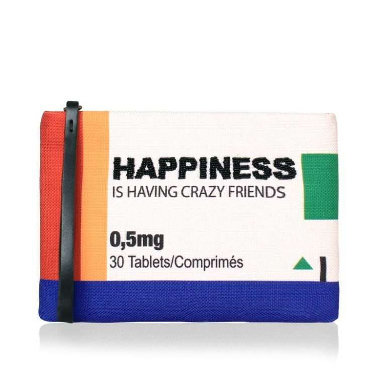 HAPPINESS POUCH FRONT