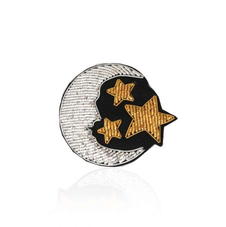 Stars & Moon Badge