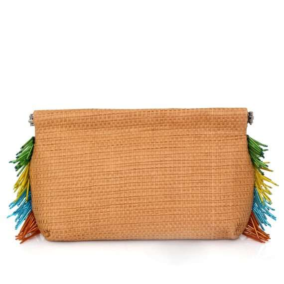 Sarahsbag-multicolor-straw- clip-bag-front-view