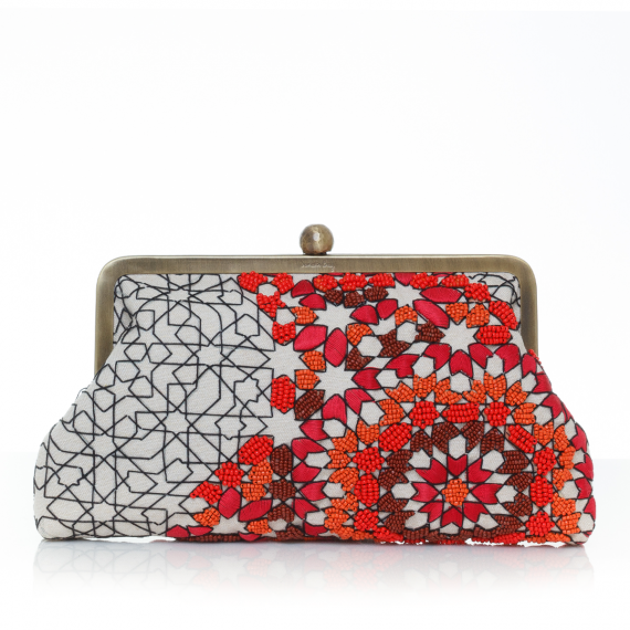Sarahsbag-oriental-arabesque-desert-classic-bag-clutch-front-view