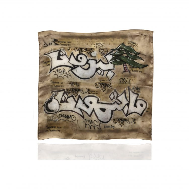 Beirut Grafiti Scarf-01