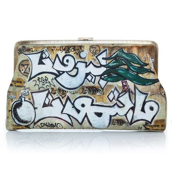 Sarahsbag-impressions-collection-graffiti-clutch-me-bag-front-view