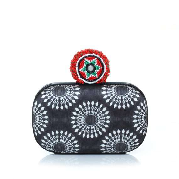 Sarahsbag-Best-off-Saga-africa-monochrome-box-bag-clutch-front-view
