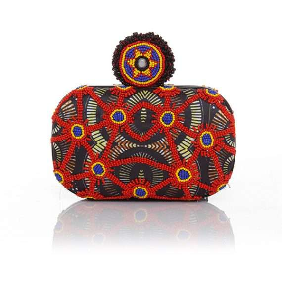 Sarahsbag-collectibles-collection-saga-africa-circles-box-bag-front-view