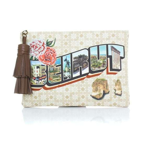Sarahsbag-print-collection-beirut-postcard-eddie-canvas-bag-front-view