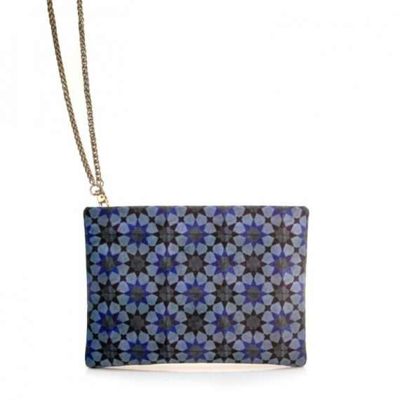 BLATA BLUE MINI POUCH SIDE CHAIN