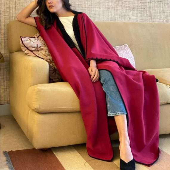 Jog-Abaya-Black-on-Burgundy-two