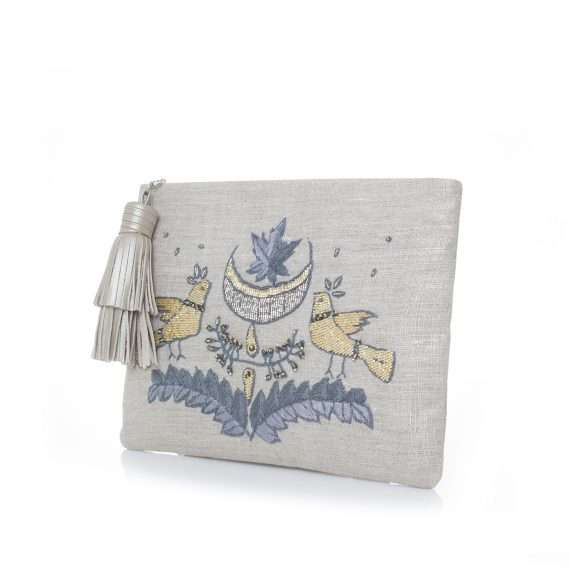birds silver pouch side