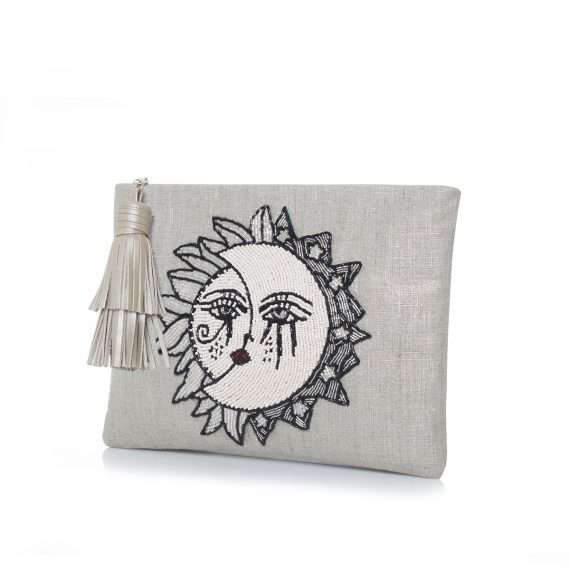 sun to moon silver pouch side