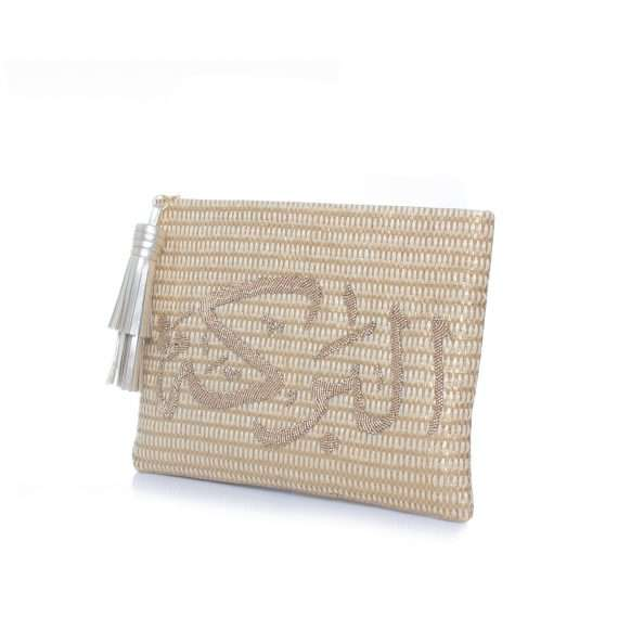Baraka gold pouch side