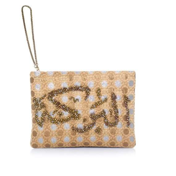 albaraka-gold-dots-mini-pouch-front