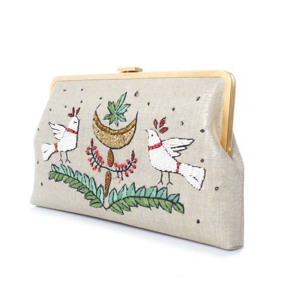 birds gold clutch me side