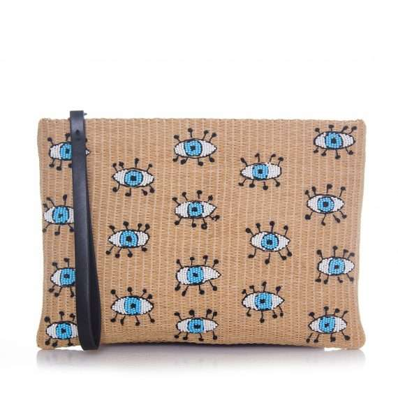 eyes–straw-pouch-front-