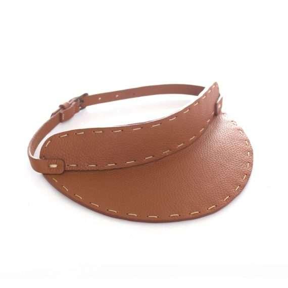 havane-leather-visiere-side